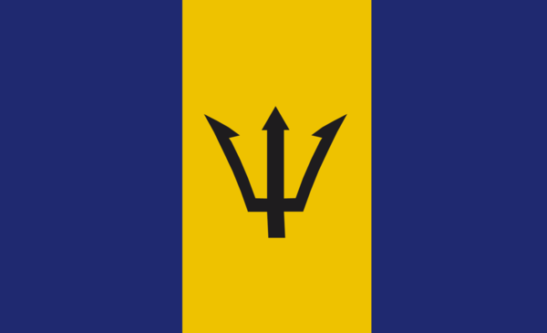 Barbadosflagge, Barbados, Nationalfahnen