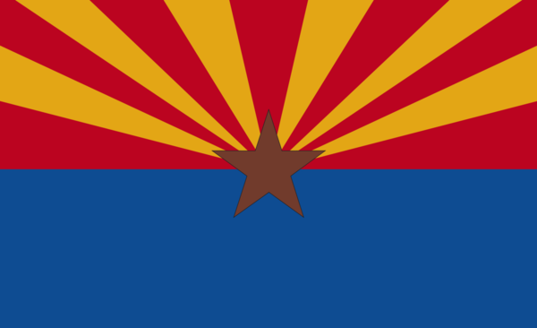 Arizonaflagge,USA, Nationalflaggen