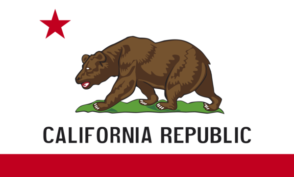 Californienflagge,USA, Nationalflaggen