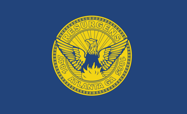 Atlanta Cityflagge,USA, Nationalflaggen