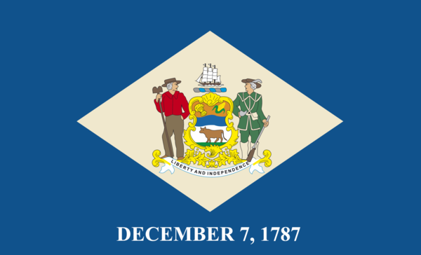 Delawareflagge,USA, Nationalflaggen