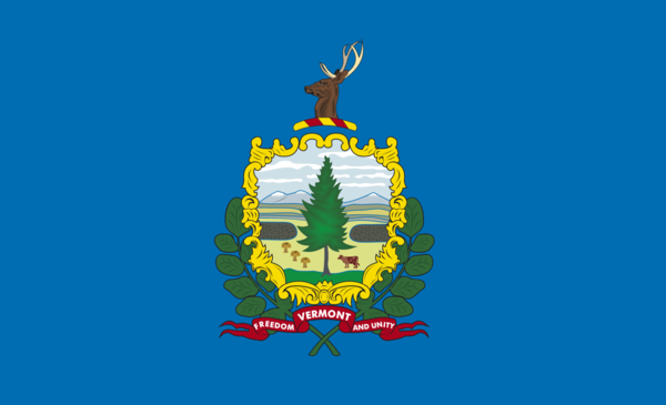 Vermontflagge,USA, Nationalflaggen