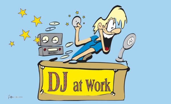 DJ at Work-Flagge, Entertainment-Flagge